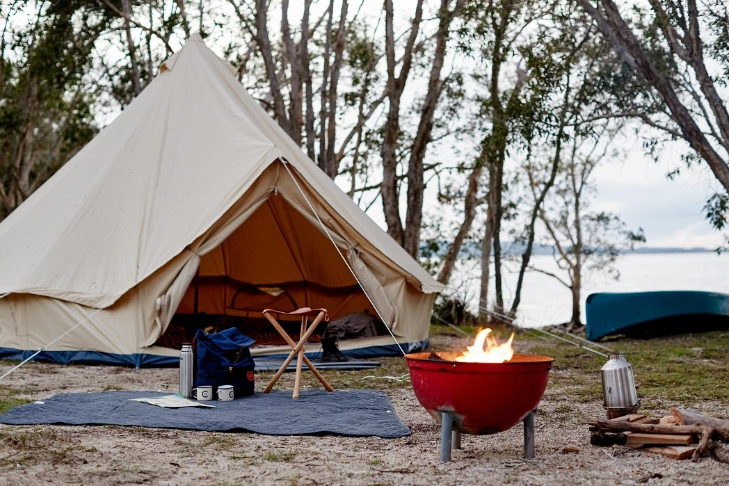 DYI Canvas Glamping Tent