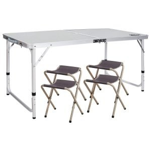 Redcamp Folding Table With Four Chairs