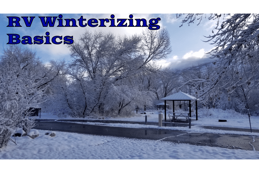 RV Winterizing Basics